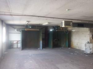 2階塗装室解体
