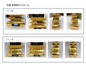 金箔リフォーム