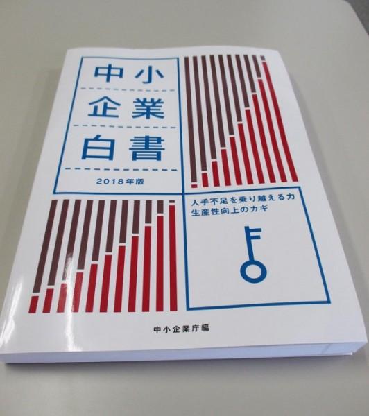 2018中小企業白書(表紙)2